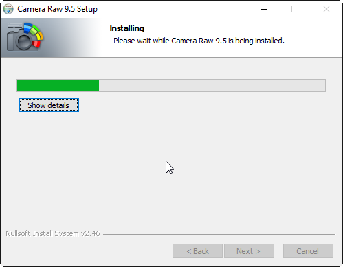 Adobe Camera Raw Setup